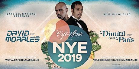 NYE at Café del Mar Bali tickets