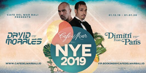 NYE at Café del Mar Bali