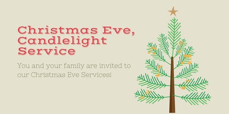 Christmas Eve, Candlelight Service tickets