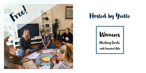 Womens healing circle, with essential oils (Balmain)