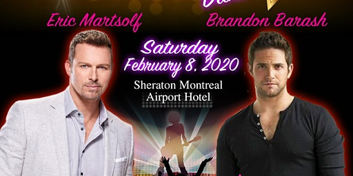 DAYS OF OUR LIVES KARAOKE DANCE PARTY WITH BRANDON BARASH & ERIC MARTSOLF IN MONTREAL