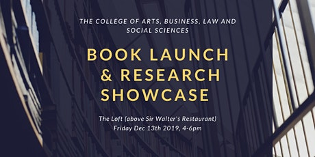 ABLSS Book Launch and Research Showcase tickets