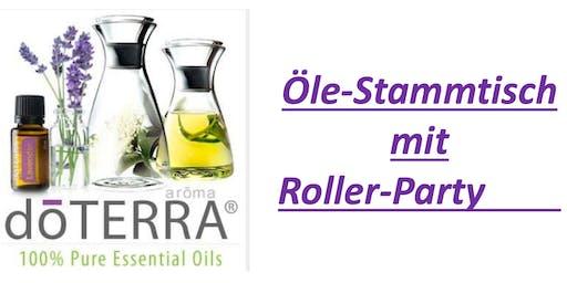 Öle-Stammtisch mit Roller-Party