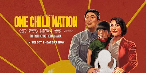 One Child Nation  - Perth Premiere - Wednesday 8th January