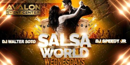 Salsa World Wednesdays Latin Night at Avalon