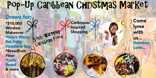 Pop-Up Caribbean Christmas Market