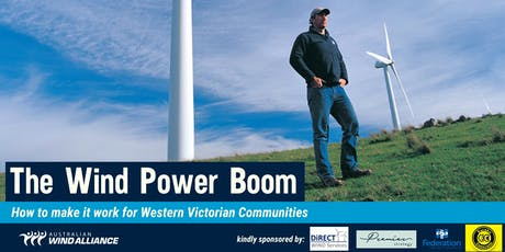 The Wind Power Boom: How to make it work for Western Victorian Communities tickets