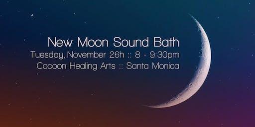 New Moon Sound Bath with Michelle Berc
