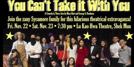 ICS Fine Arts Dept Presents: 'You Can't Take It With You' tickets