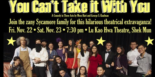 ICS Fine Arts Dept Presents: 'You Can't Take It With You'