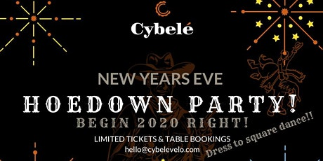 Cybelé New Year Party tickets