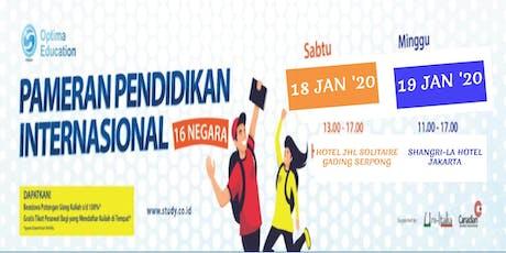 Pameran Pendidikan Internasional 2020 - Jakarta tickets