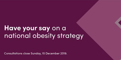 Melbourne - Have your say on a national obesity strategy