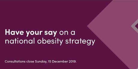 Hobart - Have your say on a national obesity strategy tickets