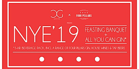 All You Can Gin NYE 2019 w/ 4-Course Feasting Banquet Dinner tickets