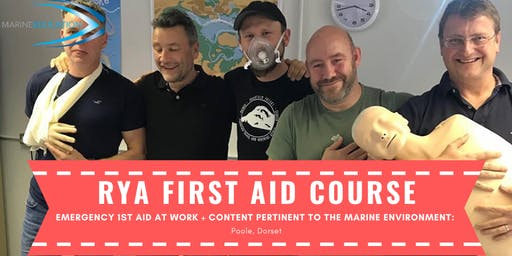 RYA First Aid Course & Emergency First Aid At Work DISCOUNTED!