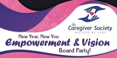 New Year, New You Empowerment & Vision Board Party! tickets