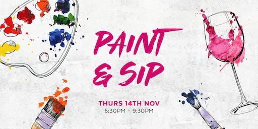 Paint & Sip at Chop Chop Cavill Lane
