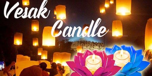Free Vesak Candle Making Class - For Vesak Day 2020