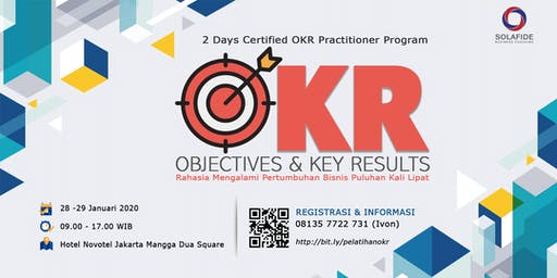 [PAID EVENT] 2 Days Training - Certified OKR Practitioner Program