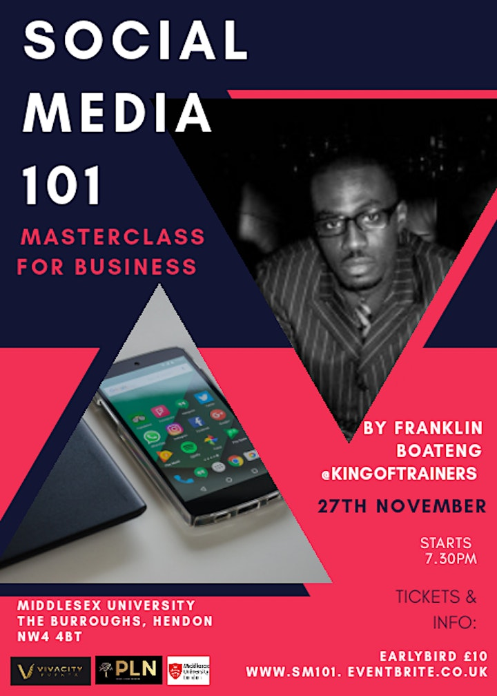 Social Media Masterclass for Business image