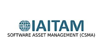 IAITAM Software Asset Management (CSAM) 2 Days Training in Boston, MA