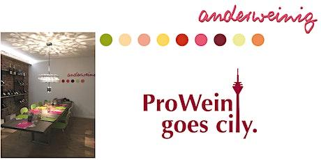 Weinevent ProWein goes City tickets