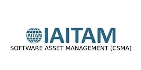 IAITAM Software Asset Management (CSAM) 2 Days Training in San Antonio, TX tickets