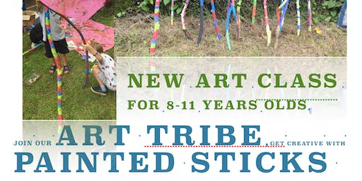 Art Tribe presents The Painted Sticks Art Workshop for Kids 8 to 11