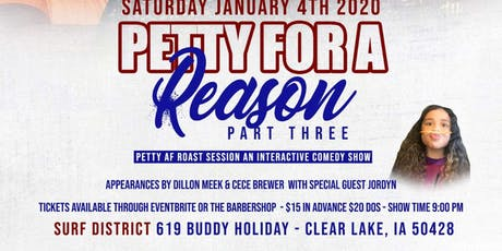 Petty For A Reason 3 tickets