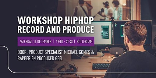 Workshop Hiphop - Recording & Producing