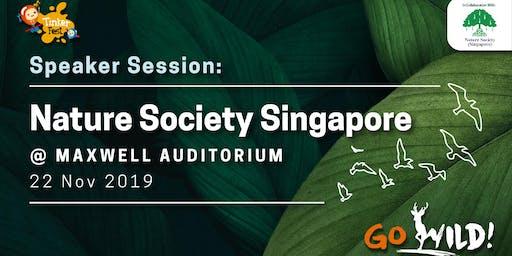Tinker Fest  2019| Speaker Session: Nature Society Singapore