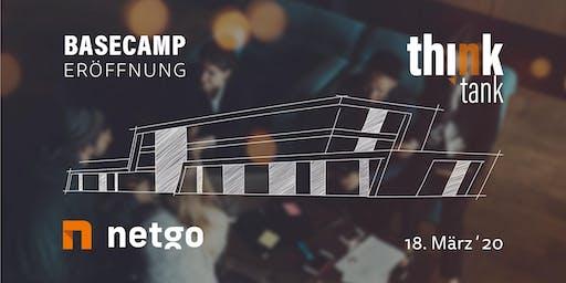 thinktank - netgo Basecamp Eröffnung