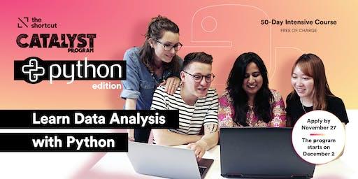 Catalyst Program: Python for Data Analysis - 2nd Info session