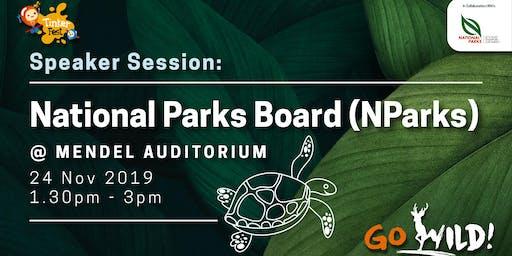 Tinker Fest 2019| Speaker Session: NParks