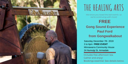 The Healing Arts Gong Sound Experience