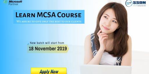 Take Best MCSA Training in Noida (Paid Training)