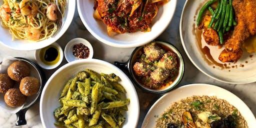 Potts Pointers Long Table || Melo's Italian