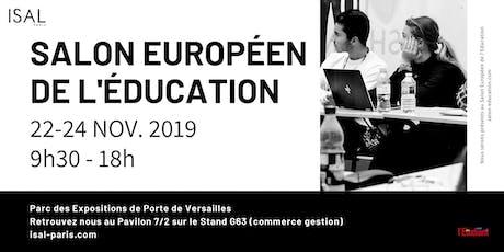 SALON DE L'ETUDIANT-SALON EUROPÉEN DE L'EDUCATION billets