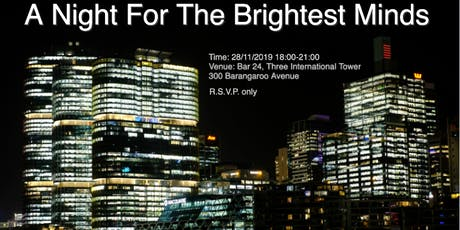 A Night For The Brightest Minds 四大精英战略之夜 tickets