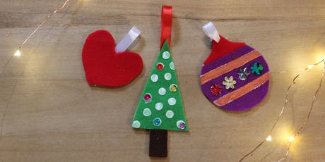 Family Festive Crafts South Perth Library tickets