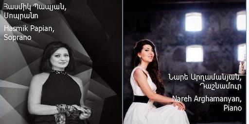Nareh Arghamanyan & Hasmik Papyan: Komitas-150