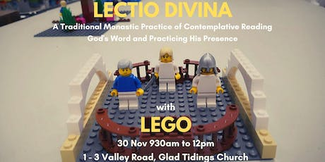 LECTIO DIVINA WITH LEGO PLAY tickets