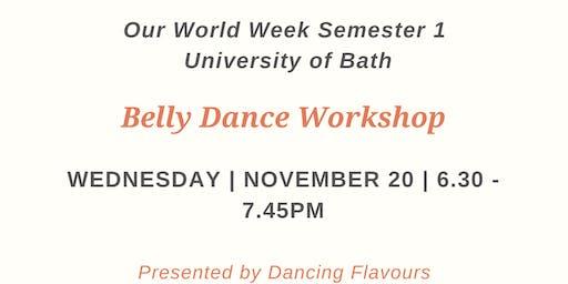 Our World Week: Belly Dance Workshop