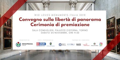 Convegno e cerimonia di premiazione Wiki Loves Monuments 2019