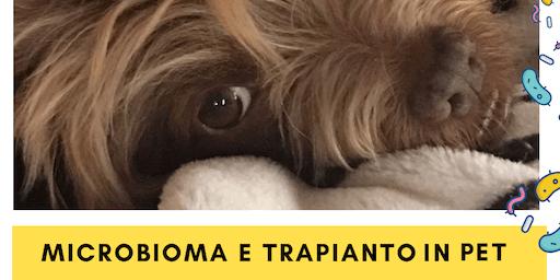 Microbioma e trapianto fecale in cani e gatti