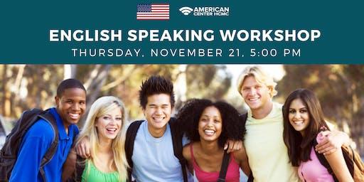 English Speaking Workshop