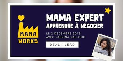 """MAMA MEETUP - """"Apprendre à négocier"""" avec Sabrina, de Deal to Lead"""