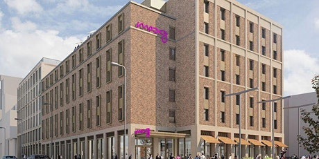 CLT Learning Journey & Site Visit: Newbuild Moxy Hotel, Fountainbridge, Edinburgh tickets