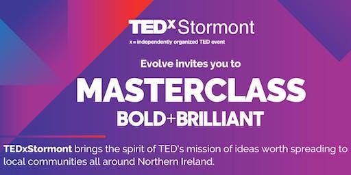 TEDxStormount Masterclass